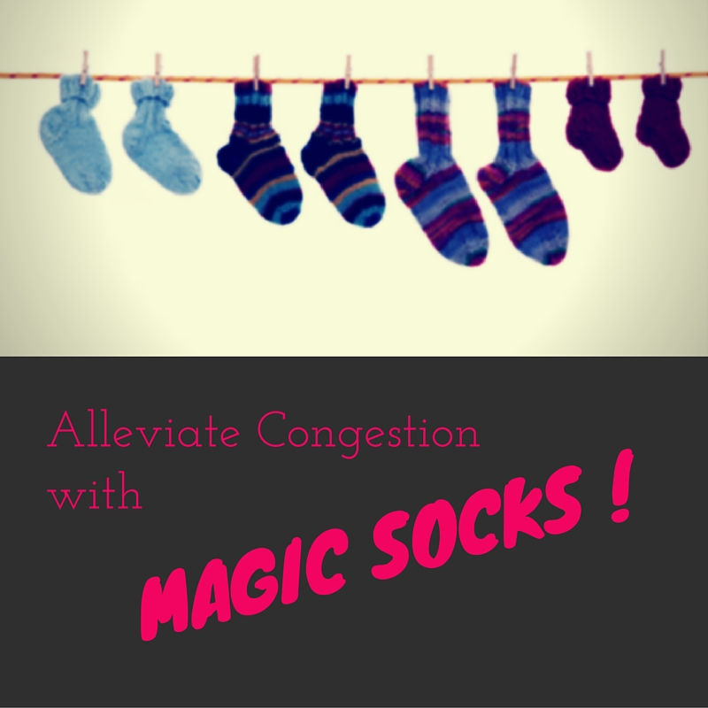 Alleviate Congestion with Magic Socks