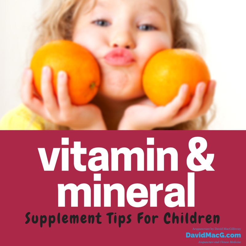 Vitamin & Mineral Supplements for Kids