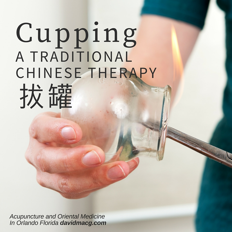Cupping, a Traditional Chinese Therapy